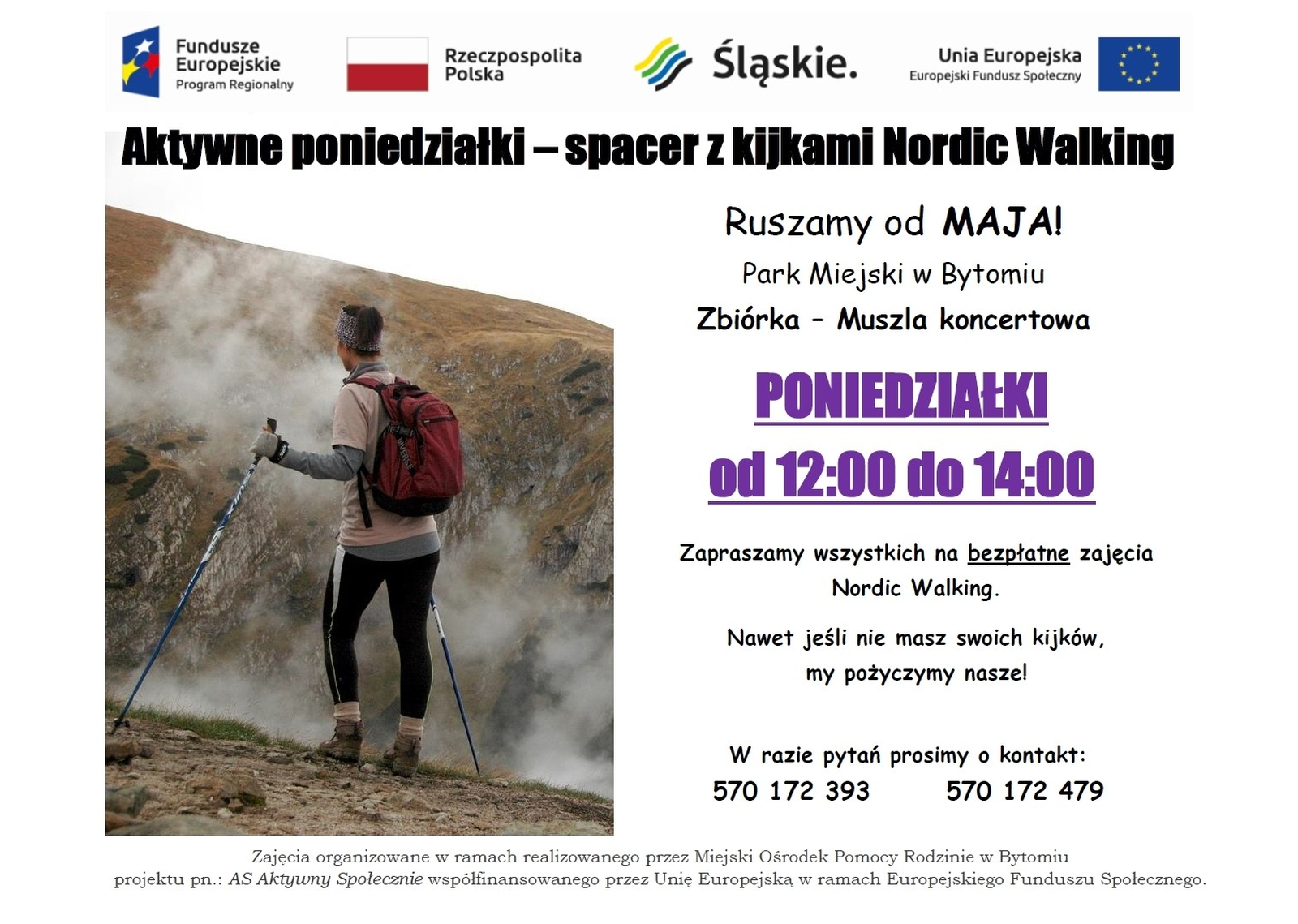 Nordic walking - plakat